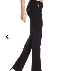 Black Guess Jeans straight Leg Grace Fit